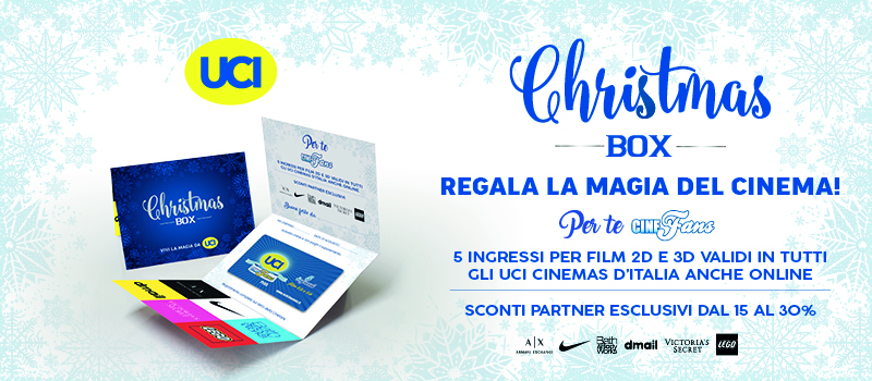 CHRISTMAS BOX, a Natale regala la magia del cinema!