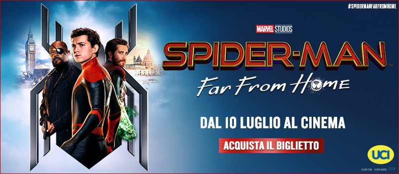 Acquista il biglietto di Spider-Man: far from home