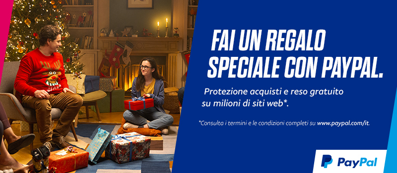 Fai un Regalo speciale con Pay Pal