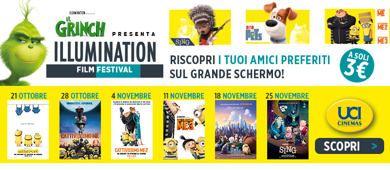 Scopri l'Illumination Film Festival!