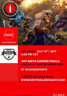 2017 Smite Finals In Valencia